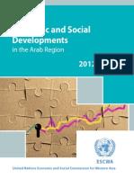 Survey of Economic and Social Developmentsin the Arab Region 2012-2013