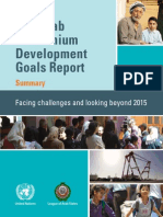 The Arab Millennium Development Goals Report Facing Challenges and Looking Beyond 2015