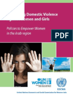 COMBATING DOMESTIC VIOLENCE AGAINST WOMEN AND GIRLS
