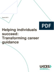 Helping Individuals Succeed Transforming Career Guidance