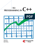 A Guide to C++ Programming
