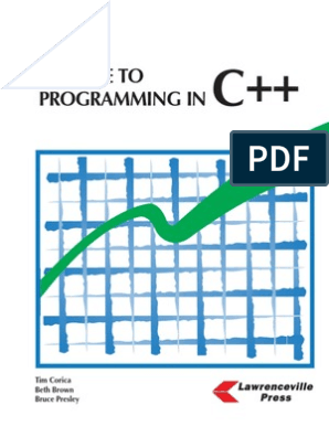 A Guide to C++ Programming | Computer Programming | Machines
