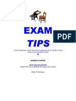 Exam-tips Anurag Chopra
