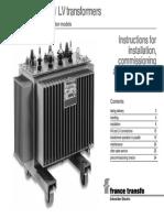 Installation and Commissining of Transformer