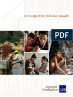 ADB's Support for Inclusive Growth