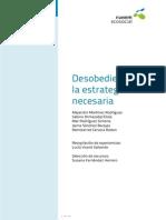 Dossier Desobediencia Civil La Estrategia Necesaria Jun13