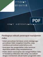 Identifikasi Dan Penilaian Risiko