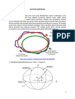 2Datum Geodetik Indonesia