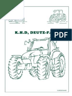 Hella freno enlaces faro trasero iluminación de la matrícula Deutz 06 intermitentes tractor