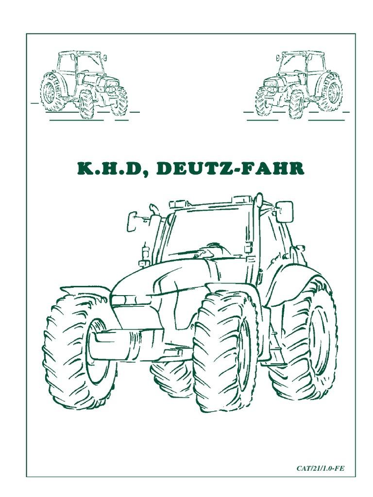 Faun-Frisch F 1300 B Filter Service Set mit Deutz F6L912 Motor