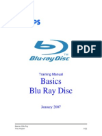 Blu-Ray Basics Training Manual