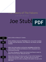 the history of the falcons and joe stubbs