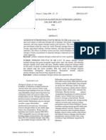 Jurnal Analisis Kandungan Amonia