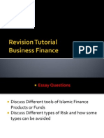 Finance Tutorial