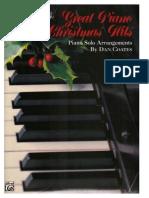 Piano Christmas Hits