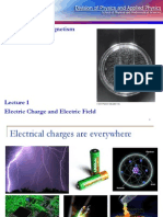 Lect 1-Electric Charge and Electric Field