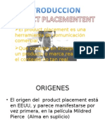 Presentacion de Product Placement[1]
