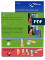How to Scan Fingers