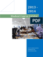 Course Catalog 2013