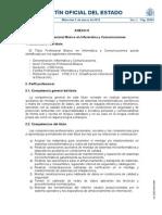 Título Profesional Básico en Informática y Comunicaciones