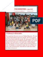 Tabitha Newsletter Feb 2014 as PDF