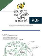 How Not to Fail LeMons Tech