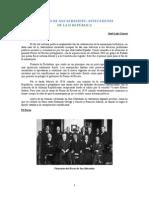 EL PACTO DE SAN SEBASTIÁN. Antecdente de la II República