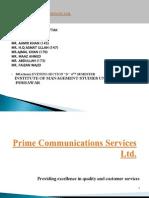 Prime Communications Services Ltd