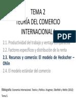 TEMA 2.3 Economia Internacional 2013.2014