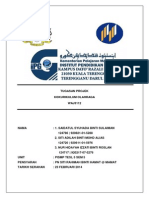 Cover Page & Partition Olahraga