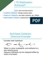 Acid Catalysis