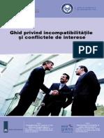 Ghid Privind Incompatibilitatile Si Conflictele de Interese 2011