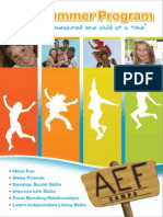 Aef Camps Brochure