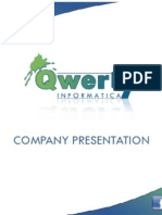 Qwerty - Institutional Presentation