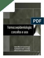 Aula 13 - Farmacoepidemiologia Bsica