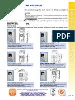 23- Cajas de Empalme Metalicas - Plasticas - Especiales