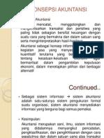 1. Konsepsi Akuntansi