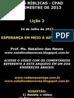 ESPERANÇA EM MEIO A ADVERSIDADE-FILIPENSES