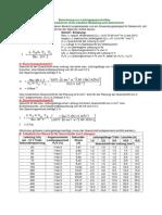 Berechnung Von Leitungsquerschnitten