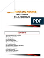 Quantitatif Log Analysis Simple