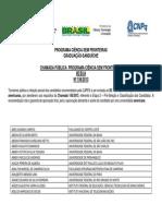 Resultado Parcial EUA 156 2013