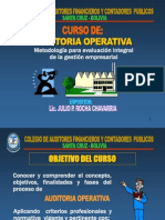 Auditoria Operativa Resume