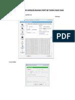 Tutorial Mbak Tere Menggunakan iPort 80 Tanpa Injek Dan Proxifier