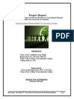Project on CSR