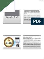 Shell y Kernel