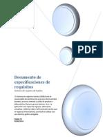 Especificaciones de requisitos de software Grupo #5 Módulo 3.1 2014