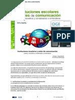 14.02 (ADEME) (Rodrigo J. García) Instituciones escolares y redes de comunicación