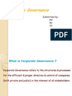 Corporate Governanace