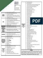 Lista de útiles Tercero Básico
