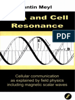 Prof. Konstantin Meyl -- DNA and Cell Resonance  (TOC)